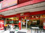 5 minutes within walking distance to Chokdee Dimsum Restaurant, for Chinese dumplings
