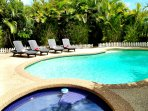 10% off new listing!  NEW furnishings, Pool, Spa!