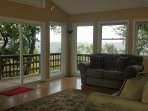 open living room with beautiful views