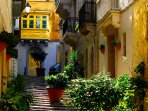 The quiet streets of Birgu
