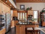 Luxurious kitchen area