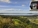Nearby Skyline attraction with spectacular views of Lake Rotorua