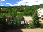 Majestic Woodrun Place condos in the heart of Snowmass