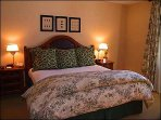 Master Bedroom with King Bed/Bath/TV