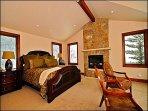 Main Master Suite with Bath/Fireplace/Flatscreen