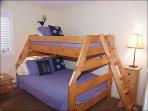 2nd Bedroom with Queen/Twin Bunk