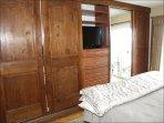Built-in cabinets in Master Bedroom