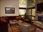 Living Room with Slopeside views