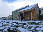 The Barn at Ty Beic, holiday cottage for mountain lovers.