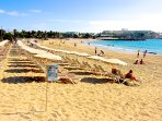 Las Cucharas Beach Costa Teguise