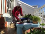 Nowie Qwabe -  wonderful host and housekeeper.