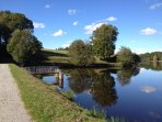Lake at Saint Dizier Leyrenne, enjoy a lovely walk, picnic or cycle ride.