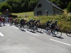 The Tour de France passes our drive most years en route up or down Tourmalet
