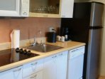 fully equipped kitchen and laundry available