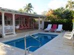 Lovely pool and veranda