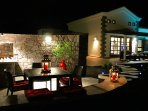 VILLA MICI AND BBQ AREA BY NIGHT
