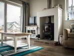 Log burner is ideal for cosy winter breaks