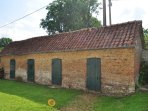These former piggeries are now used for storage.