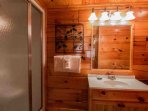 Private Master Bath with Walk-in Shower
