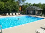 Heated shared community pool (open seasonally May-Sept)