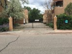 Entrance to 4 house, gated compound. Safe and secure.