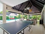 Villa Bli Drupadi has the same table tennis table as this image. Image to come soon.