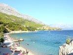 Beautiful pebble beach Ivasnjak  650m far from Villa