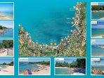 Malinska - beaches