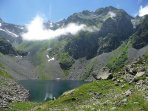 Le lac de Crop dans le massif de Belledonne
