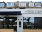 Rick Stein's restaurant in Sandbanks, a few minutes' walk from the apartment
