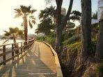 Senda Litoral de La Cala de Mijas-Riviera, hasta Cabo Pino. para disfrutar del mas bonito paisaje