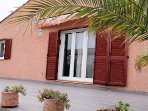 The villa is 5 mins walk to the harbour
