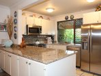 Fully Equipped Kitchen, Stainless Appliances, Tropical Garden and Ocean View, Basic Food Supplies