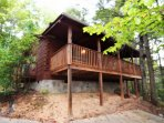1 Bedroom sleeping 6 located on a private 15 acre gated mountain.