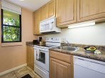This quaint kitchen comes fully equipped!