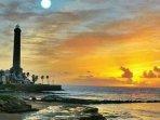 Faro de Chipiona. Puede visitarse con cita previa.