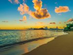 SunRise on Waimanalo Beach Facing Manana Island