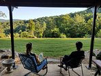 Comfy 'Cabin at Noon' in the Blue Ridge Mountains