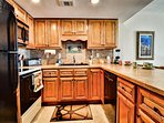 Full kitchen with all the conveniences of home