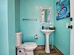 Beachy cabana full bathroom