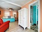 Cabana suite has a studio layout