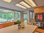 You'll love cooking in this open-concept kitchen, with marvelous views!