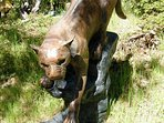 Mountain Lion Sculpture