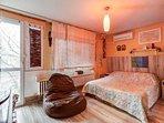 Bedroom (with door to huge terrace)