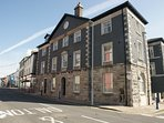 The beautiful building in the centre of Ulverston.