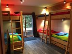 Our Family Bunky is Great for Kids or Singles - Please Note Extra Charges Apply for Use of Top Bunks