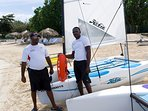 Water sports abound at the Tryall Beach Club...friendly staff will get you all set up