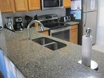 kitchen quartz counter top