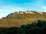 Castiglioncello del Trinoro from adjacent hilltop