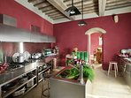State of the art Tuscan kitchen
